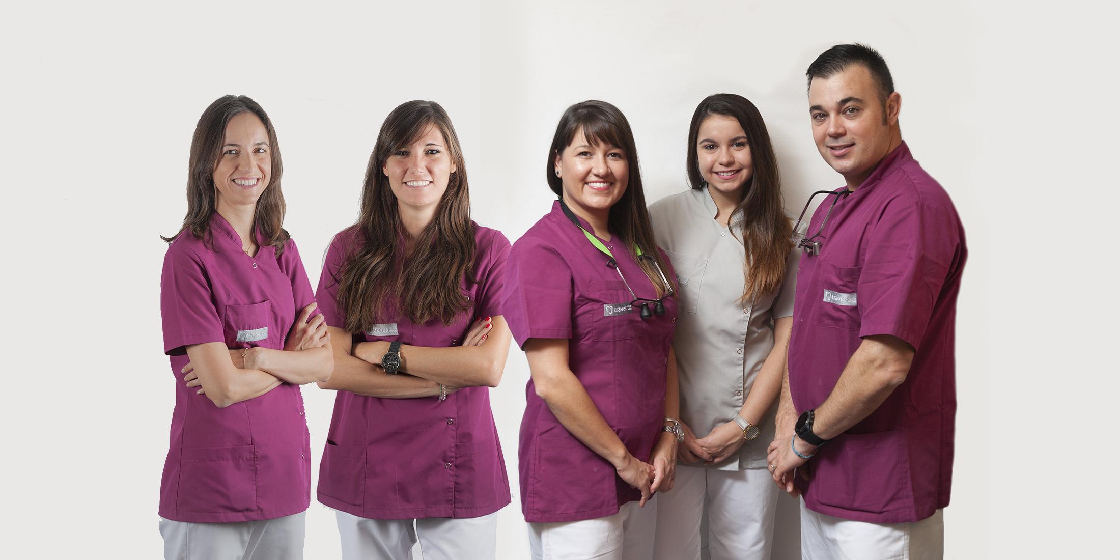 El equipo de Clínica Dental Traver